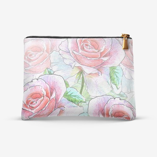 Косметичка «букет роз»