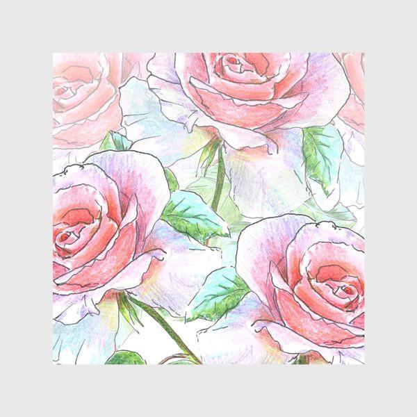 Скатерть «букет роз»