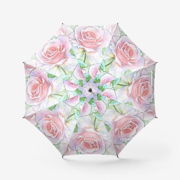 Зонт «букет роз»