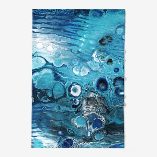 Полотенце «Абстракция жидкий акрил 6»