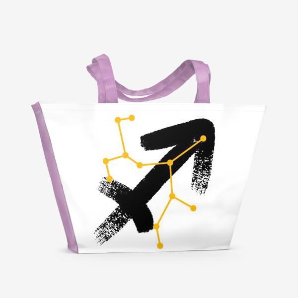 Пляжная сумка «Стрелец»