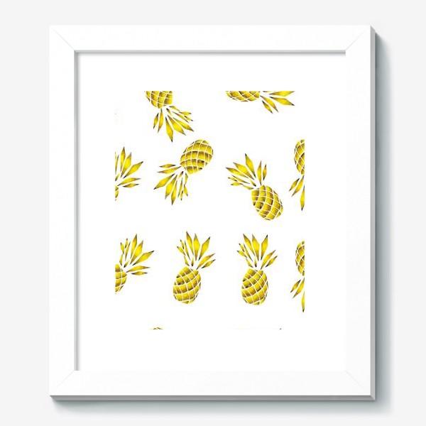 Картина «Золотой ананас»