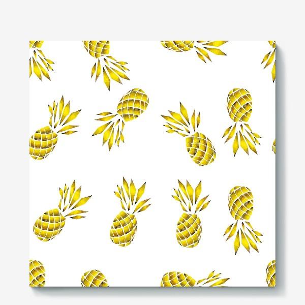 Холст «Золотой ананас»