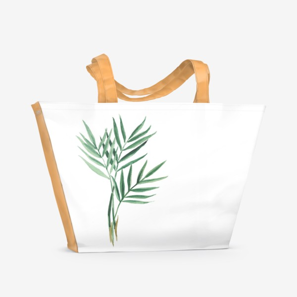 Пляжная сумка «Plants»