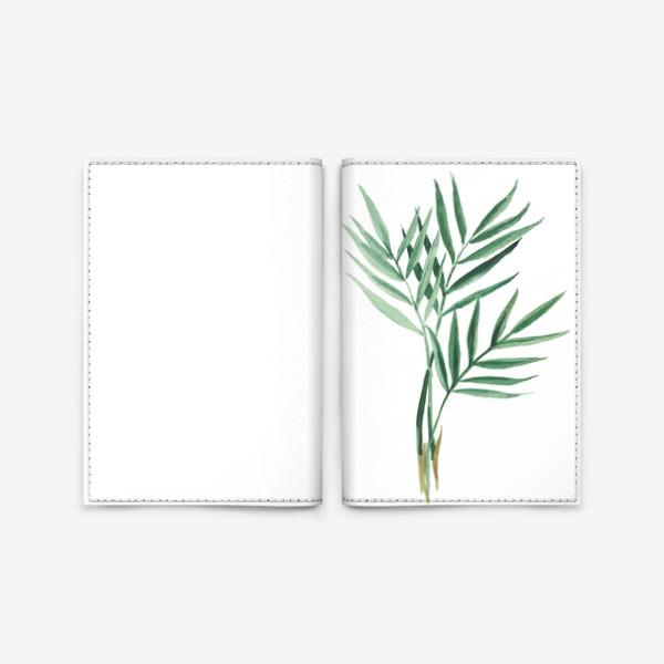 Обложка для паспорта «Plants»