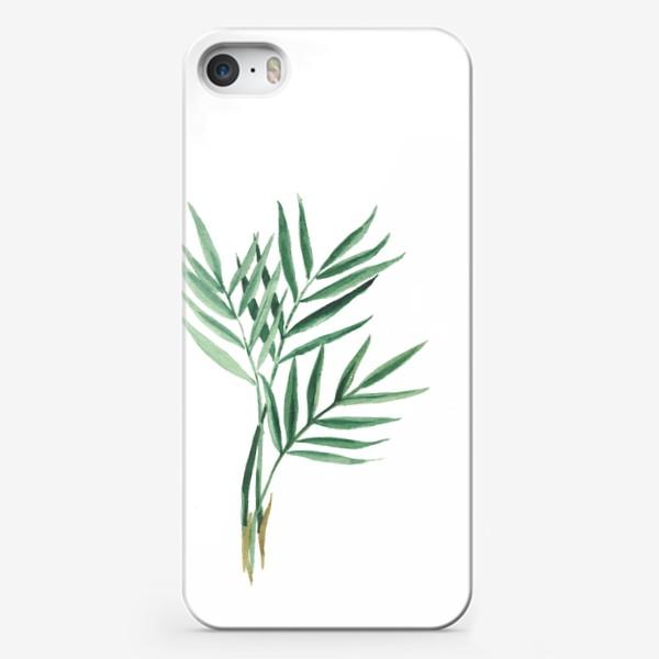 Чехол iPhone «Plants»