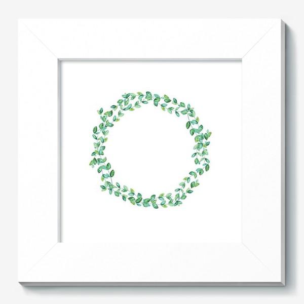 Картина «Венок из листьев»