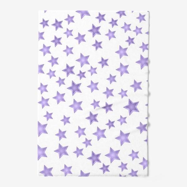Полотенце «Фиолетовые звезды»