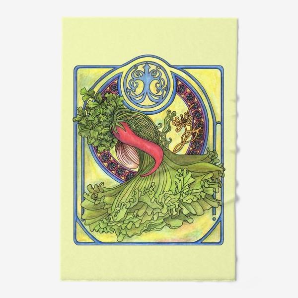 Полотенце «Специи и овощи 2  Модерн Ар нуво»