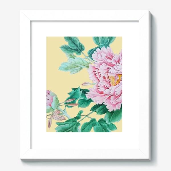 Картина «Пионы в японском стиле»