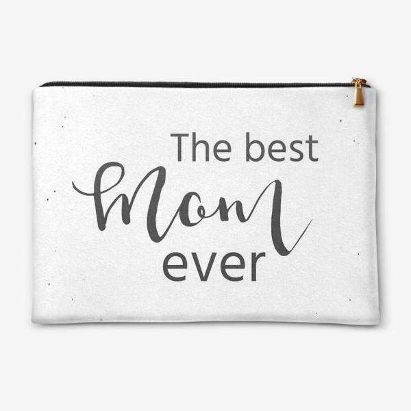 Косметичка «Лучшая мама на свете. Леттеринг»