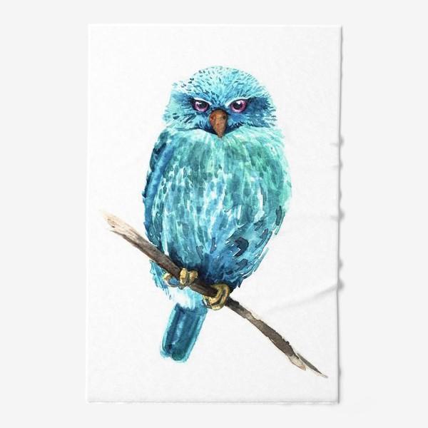 Полотенце «Акварельная сова»