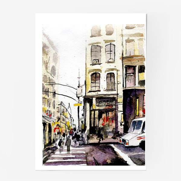 Постер «город»