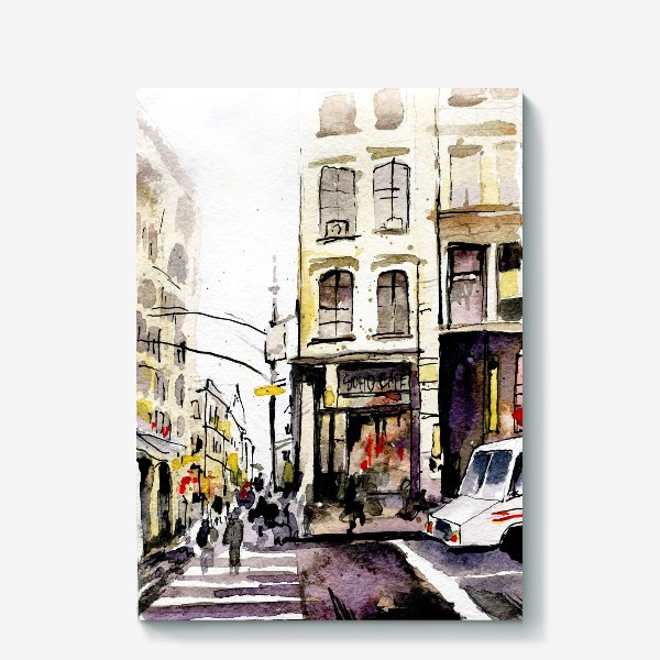 Холст «город»