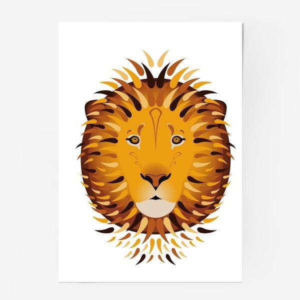 Постер «Лев»