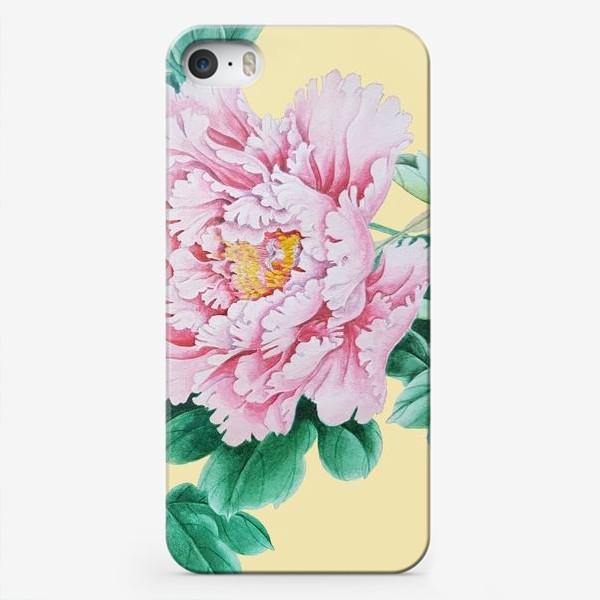 Чехол iPhone «Пионы в японском стиле»