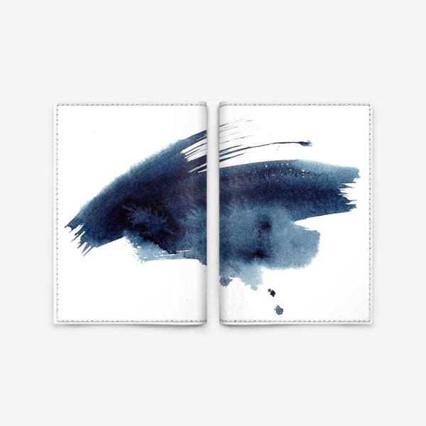 Обложка для паспорта «акварель»