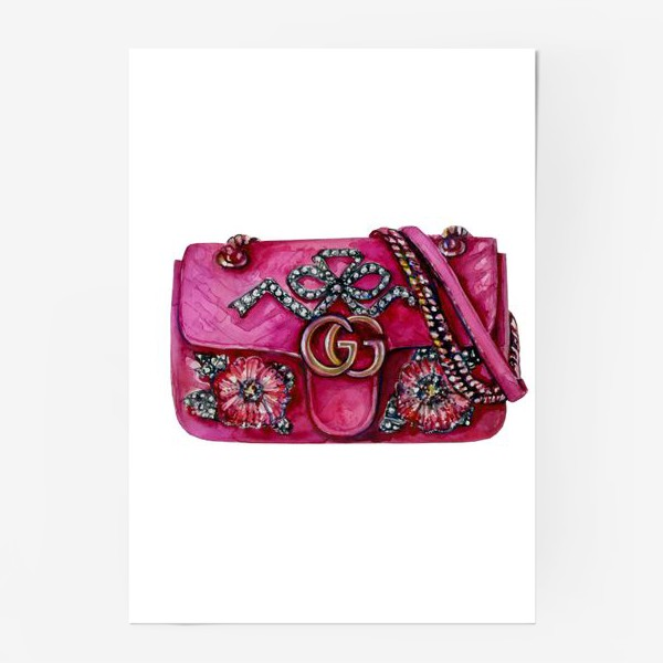 Постер «Модная сумка»