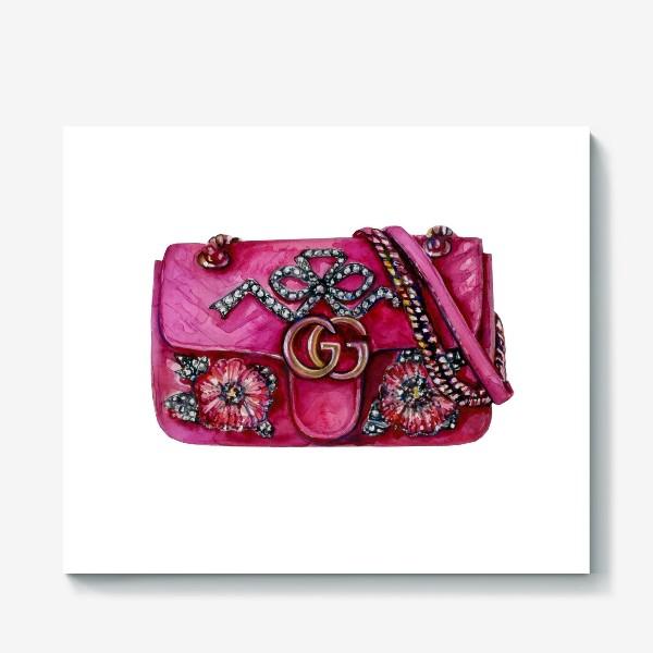 Холст «Модная сумка»