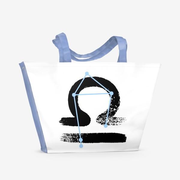 Пляжная сумка «Весы»