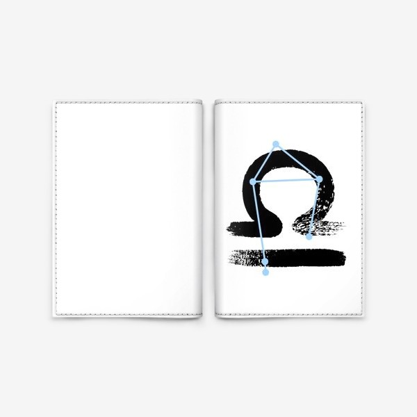 Обложка для паспорта «Весы»