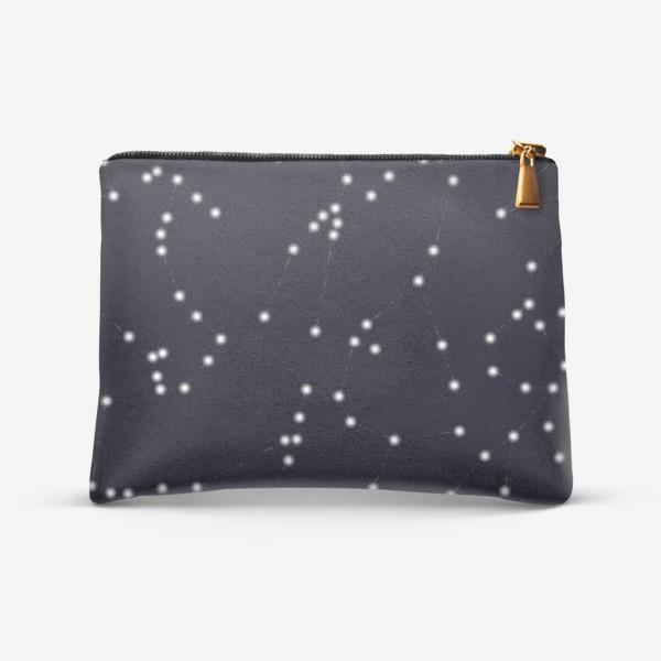 Косметичка «Созвездия знаки зодиака»