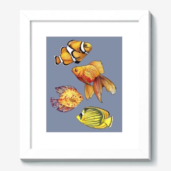 Картина «Аквариумные рыбки»