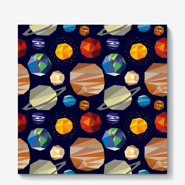 Холст «Планеты солнечной системы»