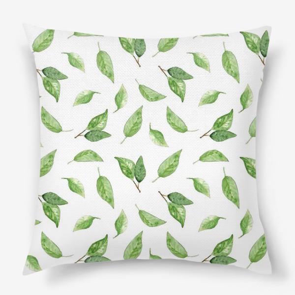 Подушка «Весенняя зелень»