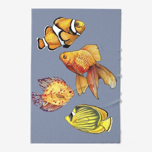 Полотенце «Аквариумные рыбки»