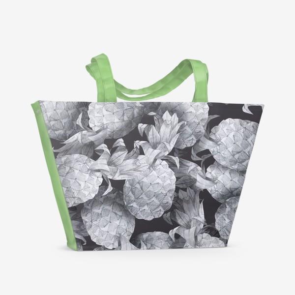 Пляжная сумка «Ананасы»