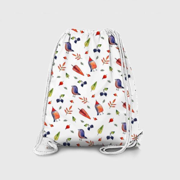 Рюкзак «Ягодные птички»