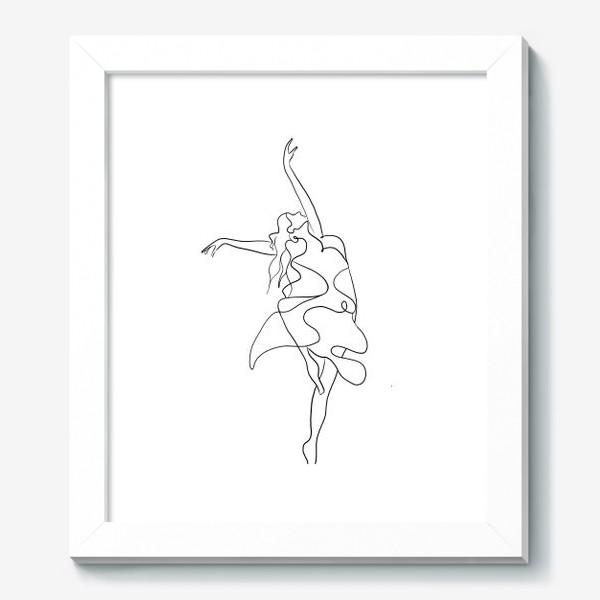 Картина «Девушка. Танец»