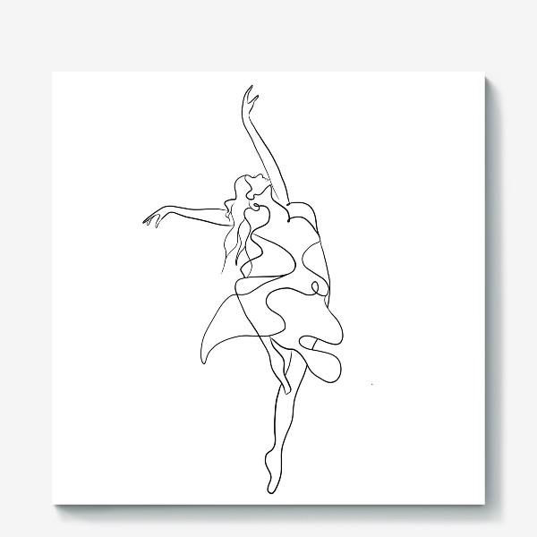 Холст «Девушка. Танец»
