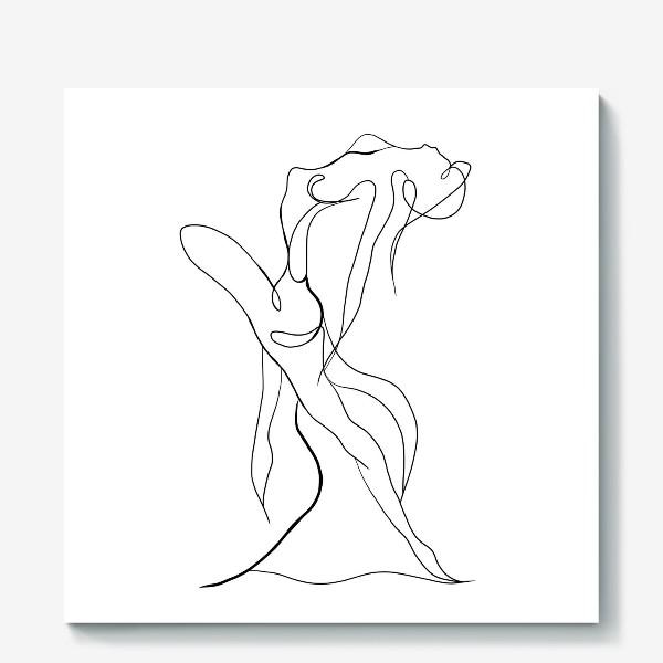 Холст «Девушка в танце»