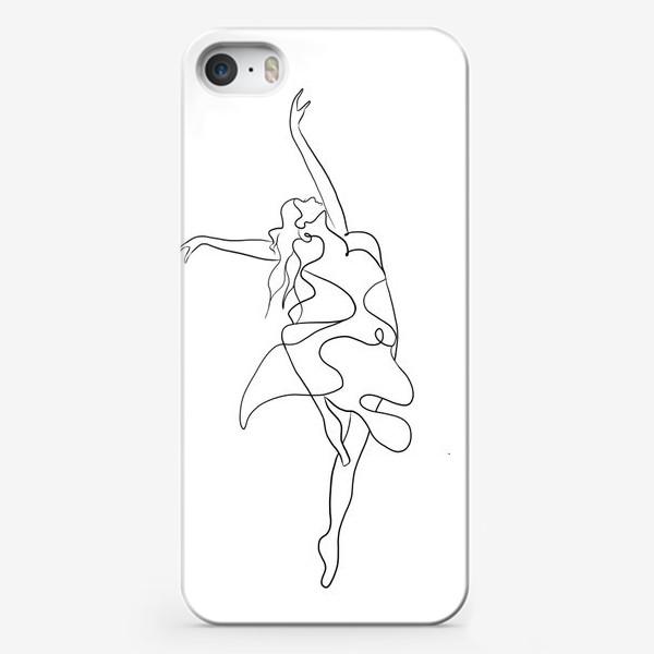 Чехол iPhone «Девушка. Танец»