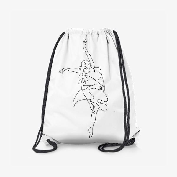 Рюкзак «Девушка. Танец»