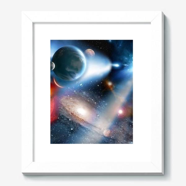 Картина «космическая фантасмагория»