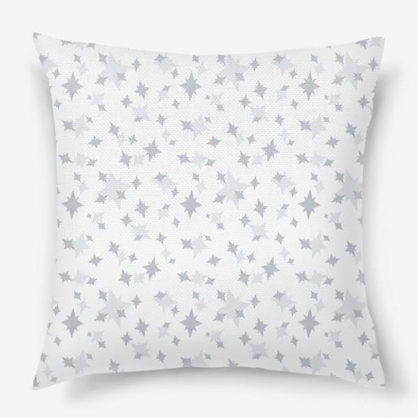 Подушка «Серебряные звезды. Ночное небо»