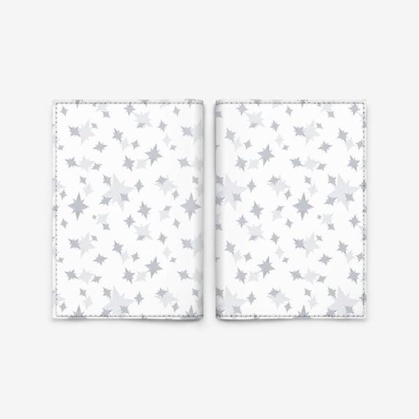 Обложка для паспорта «Серебряные звезды. Ночное небо»
