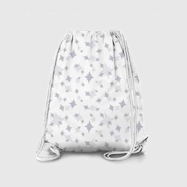 Рюкзак «Серебряные звезды. Ночное небо»