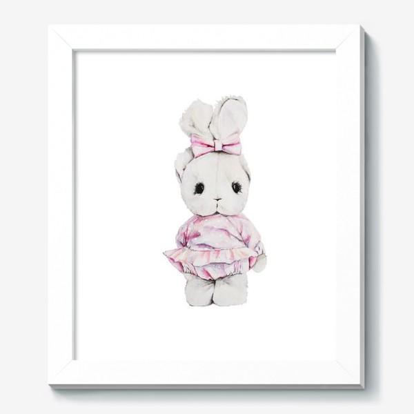 Картина «Акварельный зайка Тедди»