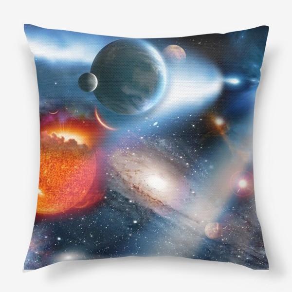 Подушка «космическая фантасмагория»