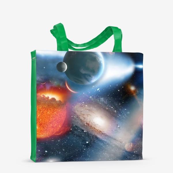 Сумка-шоппер «космическая фантасмагория»