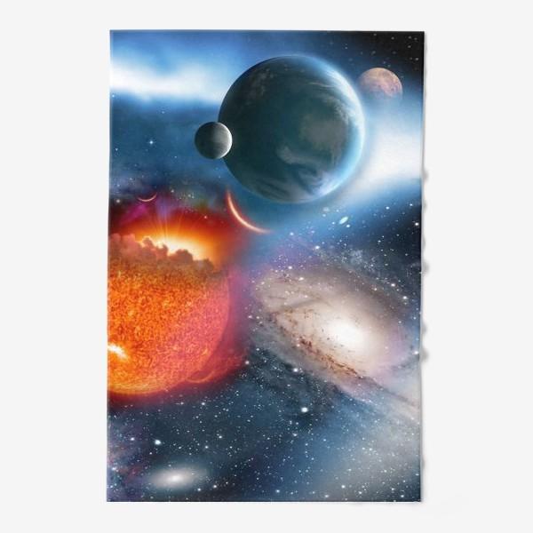 Полотенце «космическая фантасмагория»