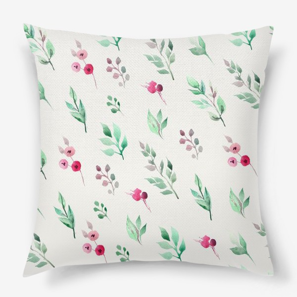 Подушка «Душистые травы. Нежнсть в стиле прованс.»