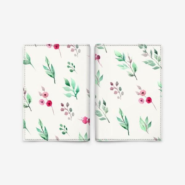 Обложка для паспорта «Душистые травы. Нежнсть в стиле прованс.»