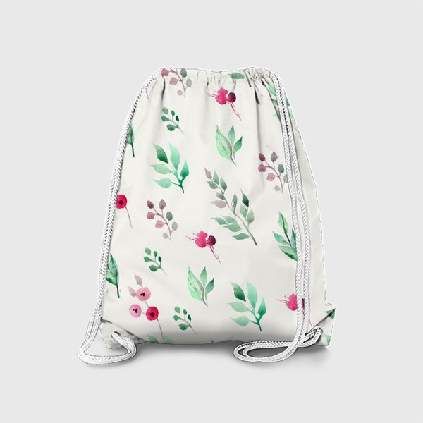 Рюкзак «Душистые травы. Нежнсть в стиле прованс.»