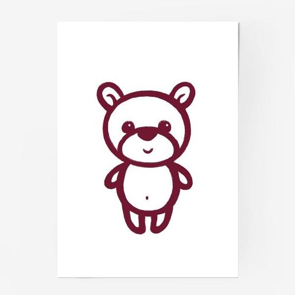 Постер «Мишка»
