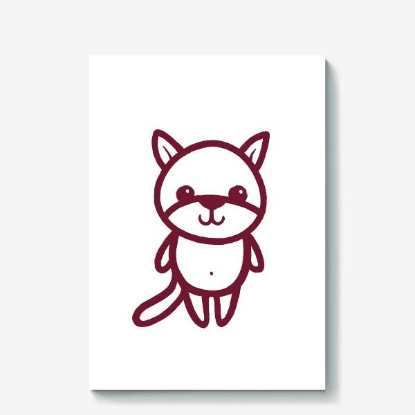Холст «Котенок»